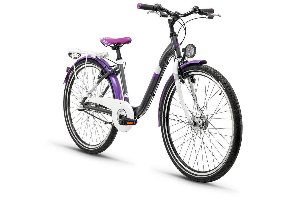 s\'cool chiX 26 3-S steel Darkgrey/Violett online kaufen | fahrrad.de